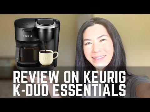 Keurig K-Duo Essentials Coffee Maker Review and Demo | SeebieDeebie
