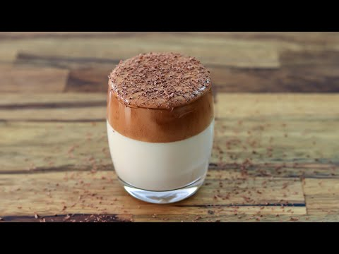 Whipped Mocha | Dalgona Mocha Coffee Recipe | How to Make Frothy Café Mocha