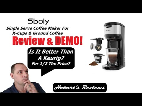 """Sboly"" Single Serve Coffee Maker Review 