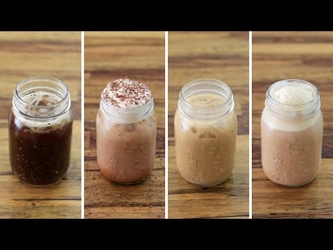 Iced Coffee – 4 Easy and Delicious Recipes