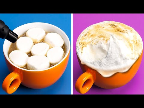 40 DELICIOUS COFFEE HACKS || 5-Minute Recipes For a Perfect Breakfast