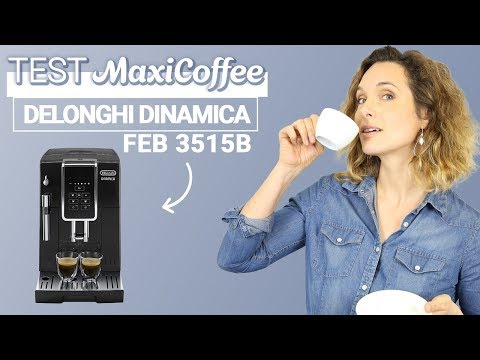 Delonghi Dinamica FEB 3515B | Machine à café automatique | Le Test MaxiCoffee