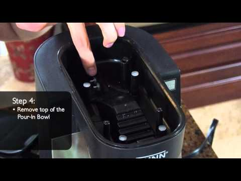 How to Clean the Water Probes on BUNN® My Café®