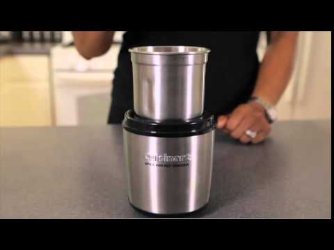 Cuisinart Spice And Nut Grinder SG10 Overview