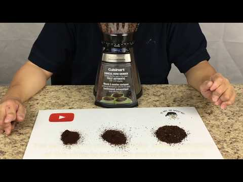 Product Review – Cuisinart Burr Mill Coffee Grinder