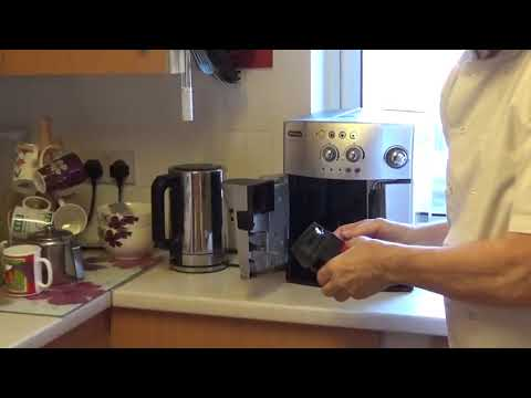 How to service the infuser on a DeLonghi Magnifica Coffee Machine . Crazy Chef