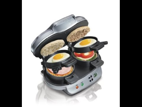 Hamilton Beach Breakfast Sandwich Maker Review