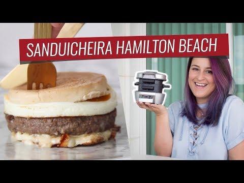 REVIEW SANDUICHEIRA HAMILTON BEACH + 3 RECEITAS FAVORITAS   #FevereiroTodoDia 05