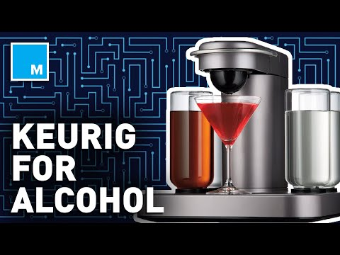 This Machine Is A Keurig For ALCOHOL | Future Blink