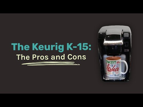 Keurig K-15 Single Cup Coffee Maker Review: WATCH before purchasing.
