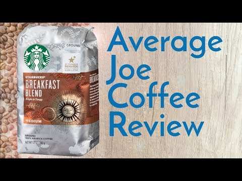 Starbucks Breakfast Blend Coffee Review