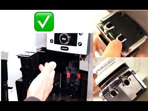 DeLonghi Perfecta Cappuccino ESAM5500 | Kaffeeauslauf Reinigen & Ausbauen