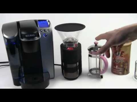 Making French Press Coffee with Keurig Coffee Brewer