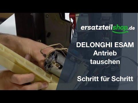 DELONGHI ESAM Antrieb / Motor tauschen – ausbauen einbauen Schritt für Schritt Reparaturanleitung