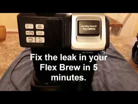 Hamilton Beach Flex Brew Water Leak 5 Minute Fix