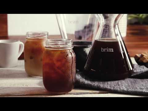 Brim Coffee Demo – Smart Valve Cold Brew Coffee Maker
