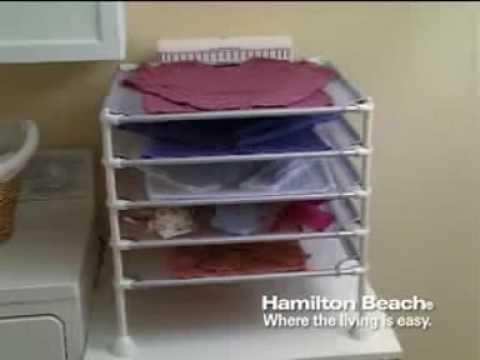 Hamilton Beach® Quick Dry™ Garment Drying Station