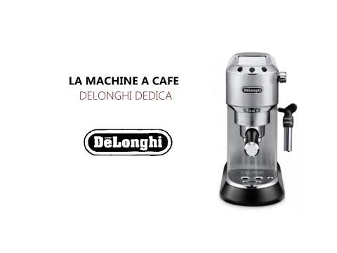 Delonghi Dedica EC 685.M : Démonstration par nos experts Cafés Trottet