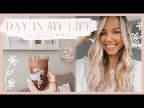 DAY IN MY LIFE | new iced coffee recipe, natural plant fertilizer, & organizing our fridge! ✨