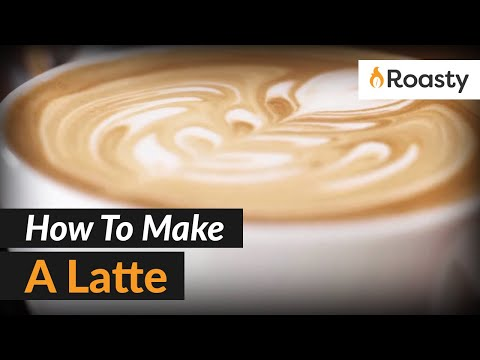 How To Make A Latte At Home With An Espresso Machine [Step by Step Tutorial]