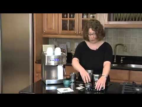 Cuisinart Programmable Espresso Maker (EM-200) Demo Video