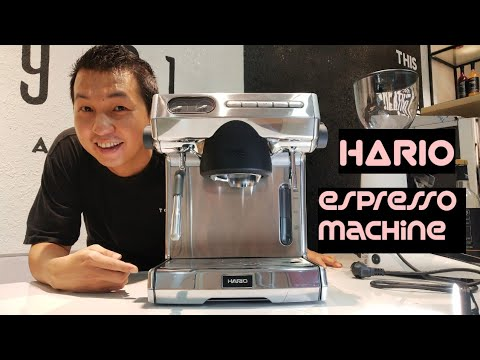 Hario espresso machine first look review