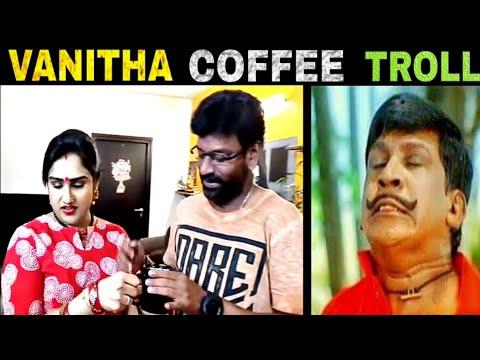 Vanitha Vijayakumar Coffee Recipe Troll   Peter Paul – MADRAS TROLL