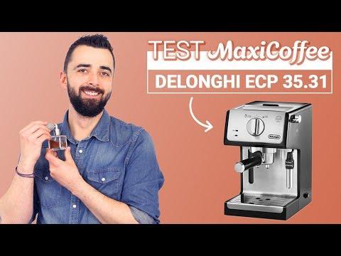DELONGHI ECP 35.31 Inox Noir | Machine expresso compacte | Le Test MaxiCoffee
