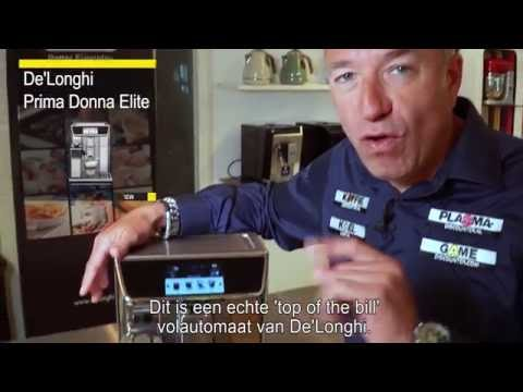 DeLonghi PrimaDonna Elite ECAM 650.75.MS – volautomaat: Review en unboxing koffiemachine