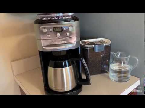لعشاق القهوة كيفية صنع القهوة  السوداء   Best coffee maker Cuisinart Grind & Brew 12-Cup