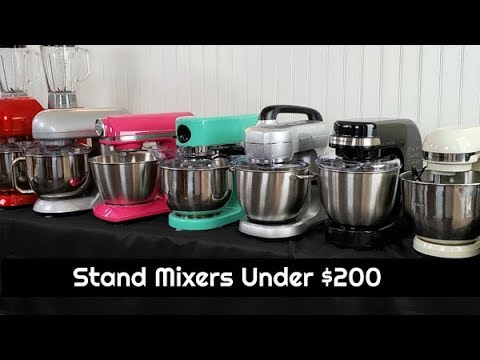 13 Stand Mixers Under $200 | Bosch, Hamilton Beach, Farberware & Cheftronic | Stand Mixer Showcase