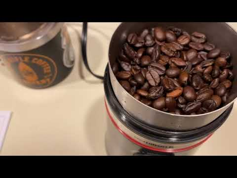 I LOVE COFFEE!! New Hamilton Beach Custom Grind Coffee Grinder | VERY Quiet and consistent!