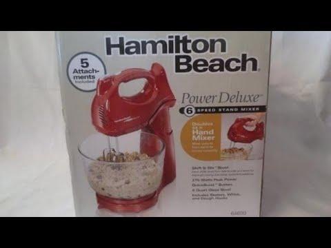 Hamilton's Beach Mixer Review
