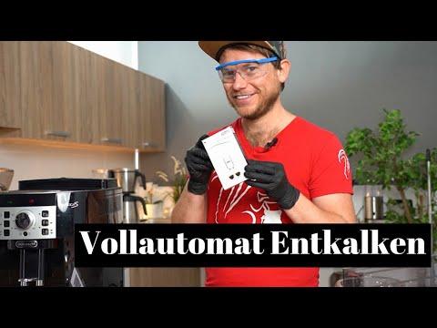 Anleitung – DeLonghi Magnifica Entkalken | Wie wird ein Kaffeevollautomat richtig entkalkt?