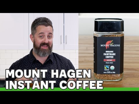 Try Drinking Fairtrade Instant Coffee with Mount Hagen Coffee! | Review
