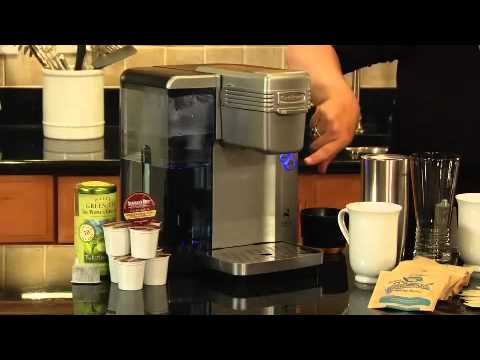 Cuisinart Single Serve Brewing System (SS-700) Demo Video