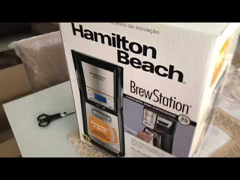 Cafeteira Elétrica Hamilton Beach Brewstation Elite 35 Xícaras (1,7 Litros) Preto