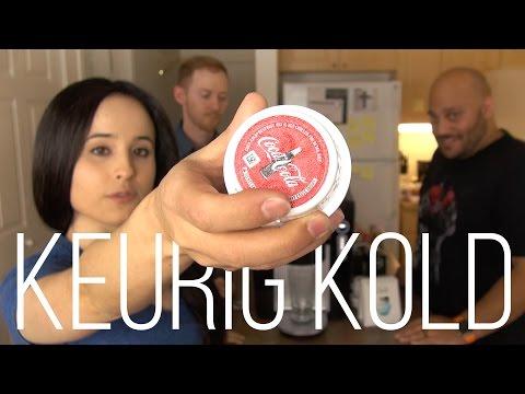 Keurig Kold Review & Taste Tests    Summertime Giveaway
