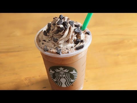 Starbucks Mocha Cookie Crumble Frappuccino  recipe |  coffee  recipe