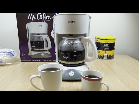 Mr. Coffee 12 Cup Basic Coffee Maker Demo
