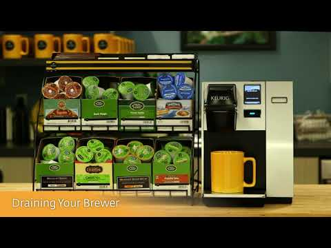 Keurig® K150 Brewer Cleaning Instructions