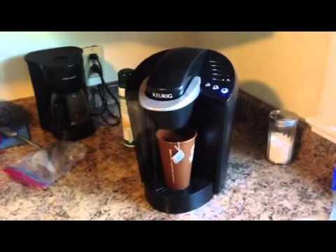 How to Make Tea using Keurig Coffee Maker