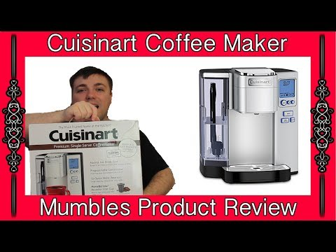 Cuisinart SS-10 Premium Single-Serve Coffeemaker || Mumbles Product Review