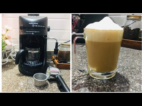 Morphy Richards New Europa 800-Watt Espresso Coffee Maker Demo | Morphy Richards coffee maker