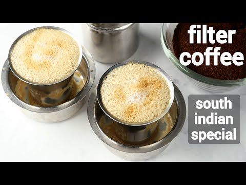 flavored filter coffee recipe   filter kaapi recipe   south indian filter coffee   ಫಿಲ್ಟರ್ ಕಾಫಿ