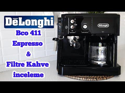 Delonghi BCO 411 Kahve Makinesi Nasıl Kullanılır ? Espresso & Filtre Kahve