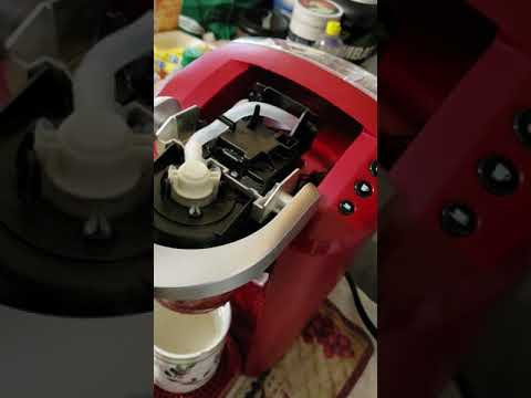 KEURIG k. compact  , This is a tutorial video on how to fix KEURIG in seconds took me 10 MINUTES