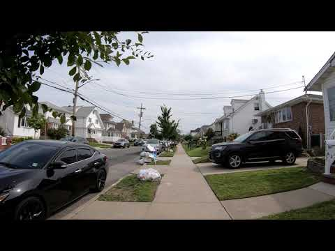 ⁴ᴷ Walking Tour of Old Howard Beach, Ramblersville, & Hamilton Beach, Queens, NYC