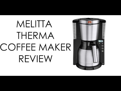 Melitta Therm Timer Coffee Maker Review