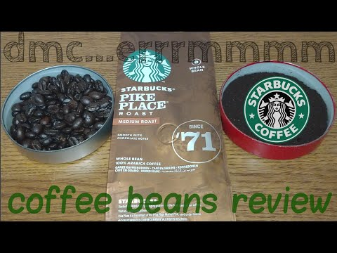 Starbucks Pike Place Coffee Beans Review.